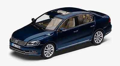 AU13.65 • Buy Genuine Vw Passat B7 Saloon Night Blue Metallic 1:43 Scale Diecast Model Car