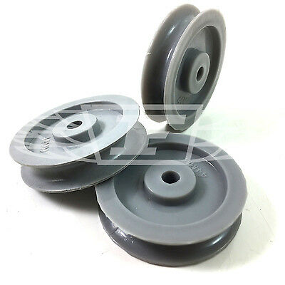 £3.39 • Buy 44mm GREY SPARE NYLON PULLEY WHEELS, SHEAVES REPLACEMENT PVC 1.3/4  ROPE