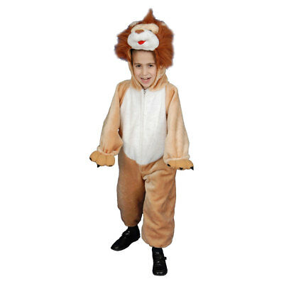 £33.99 • Buy Deluxe Kids Plush Lion Costume Set By Dress Up America