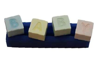 Baby Blocks - B193 FIRST IMPRESSIONS MOLDS - Silicone Moulds • 17.72£