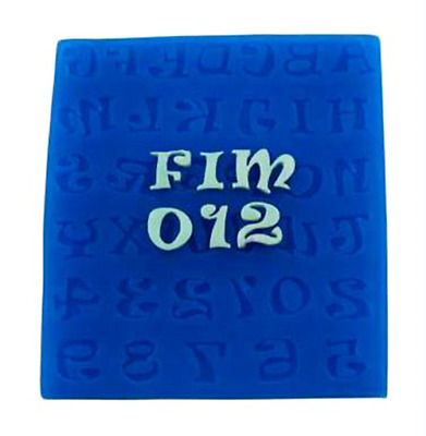 Alphabet - AL108 FIRST IMPRESSIONS MOLDS - Silicone Moulds • 11.78£