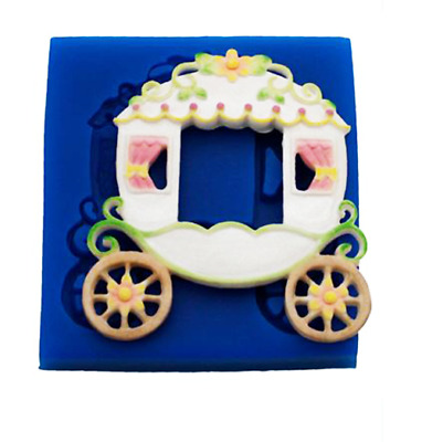 Fairy Tale Carriage - MN292 FIRST IMPRESSIONS MOLDS - Silicone Moulds • 19.41£