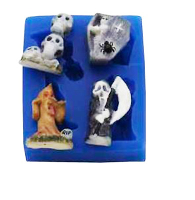 Halloween Set - SE291 FIRST IMPRESSIONS MOLDS - Silicone Moulds • 9.70£