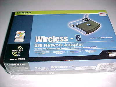 $18.99 • Buy  Linksys WUSB11 Wireless-B USB Network Adapter V4 Black New