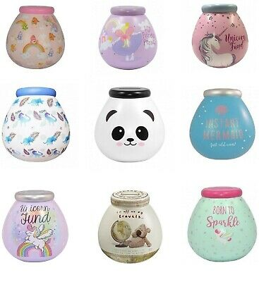 Pot Of Dreams / Disney/ Childrens / Characters Money Box/ Pot  Various Designs   • 8£