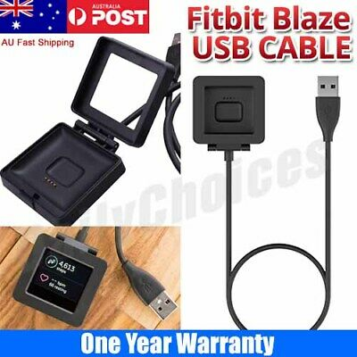 AU6.85 • Buy Replacement USB Charging Charger Cable For Fitbit Blaze Smart Fitness Watch DS
