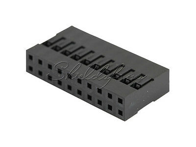 AU1.66 • Buy 20PCS Dupont Shell Connector Housing Female Connector 2.54mm 2x10Pin