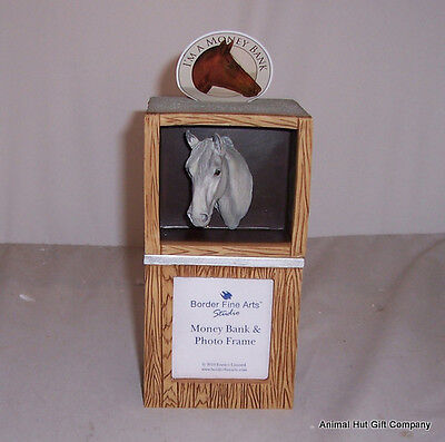 Border Fine Arts Shire Horse Moneybox And Picture Frame • 21.99£