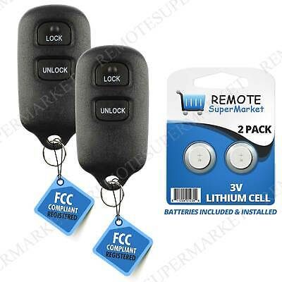 $36.99 • Buy Replacement For Toyota 1995-2004 Tacoma 2003-2006 Tundra Remote Car Key Fob Pair