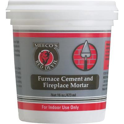 Meeco's Red Devil Pt Furnace Cement • 10.86£
