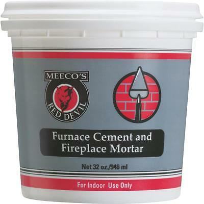 Meeco's Red Devil Quart Furnace Cement • 12.32£