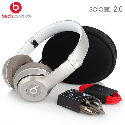 AU88.90 • Buy Solo Hd 2.0 Dr. Dre Beats Wired Special Edition Space Grey On Ear Headphone