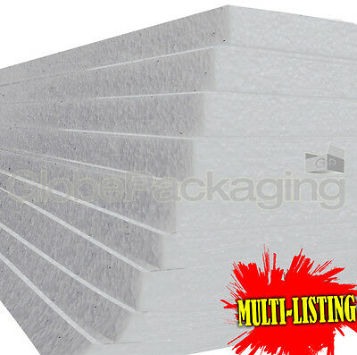 £42.10 • Buy Expanded Polystyrene Eps70 Foam Packing Insulation Sheets *all Sizes / Qty's*