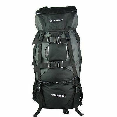 AU49.99 • Buy 80L Extral Load Outdoor Backpack Rucksack Bag Camping Hiking Travel GST Is Inc