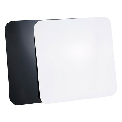 Set Of 2 60x60cm Black & White Reflective Acrylic Boards For Product Photography • 38.59£