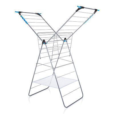 £34.99 • Buy Minky Xtra Wing Indoor Airer 24m Drying Space - Silver