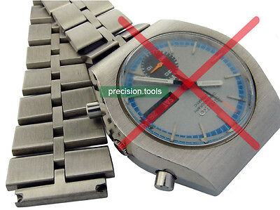 $ CDN46.05 • Buy 20mm Fishbone Solid Stainless Steel Replacement Bracelet For Suba 6139-8020