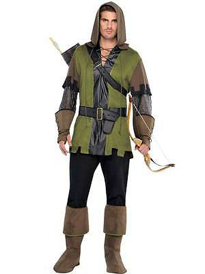 Mens Robin Hood Prince Of Thieves 90s Book Day Week Fancy Dress Costume Outfit • 23.99£