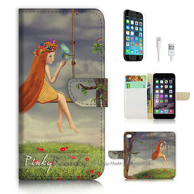 AU12.99 • Buy ( For IPhone 6 Plus / IPhone 6S Plus ) Case Cover P3087 Girl Swing