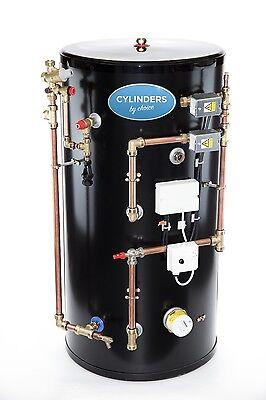 £889.99 • Buy Stainless Steel System Easy Fit Pre Plumbed Unvented Hot Water Cylinder