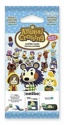 NEW Animal Crossing: Happy Home Designer Amiibo Cards Pack - Series 3 - 1 Pack • 8.95£