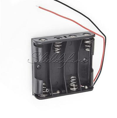 AU1.39 • Buy Plastic Battery Storage Case Box Holder For 4 X AA 4xAA 2A 6.0V  Wire Leads