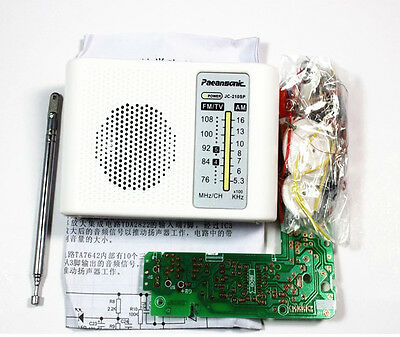 AM FM Radio Kit Parts CF210SP Suite For Ham Electronic Lover Assemble DIY  • 4.35£