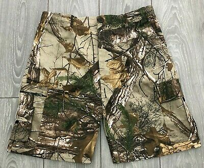 Mens Realtree Camouflage Knee Length Shorts Fishing Hunting Paintball Camo Army • 12.99£