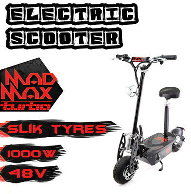 AU629 • Buy Electric Scooter Turbo 1000w Motor Electrical 48v Adjustable Foldable On Road !