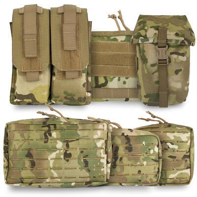 Bulldog Tactical Military Army Cadet Airsoft Modular MOLLE Pouch Holder MTC Camo • 9.90£