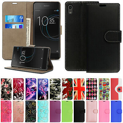 For Sony Xperia Experia Phones Leather Wallet Book Flip Side Opens Case Cover • 1.99£
