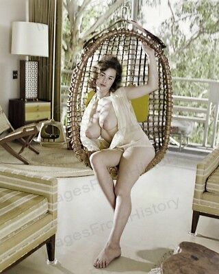 AU20.81 • Buy 8x10 Print Sexy Model Pin Up Busty Brunette 1960's Nudes #M8