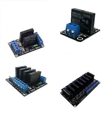 AU6.11 • Buy 5V 1/2/4/8 Channel OMRON SSR G3MB-202P Solid State Relay Module For Arduino