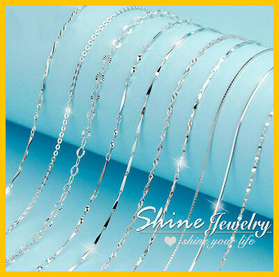 AU7.99 • Buy 925 STERLING SILVER FILLED 2MM MENS WOMEN 16-24  CHARM NECKLACE FOR PENDANT Gift