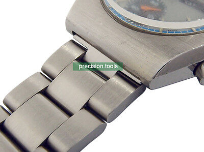 $ CDN31.11 • Buy 20mm Oyster Stainless Steel Replacement Bracelet For Scuba 6139-8020 Chrono