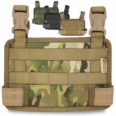 Bulldog Military Army Tactical Modular Pouch Nylon Drop-Leg MOLLE Panel Platform • 15.80£