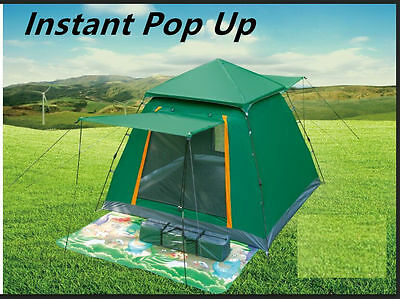AU89.99 • Buy Instant Pop Up Camping Hiking Camping Portable Dome Tent Gazebo Canopy