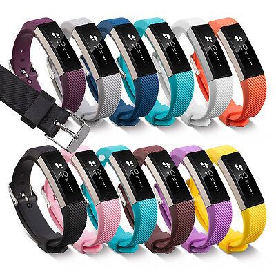 AU7.45 • Buy Fitbit Alta Band Secure Strap Wristband Buckle Bracelet Fitness Tracker