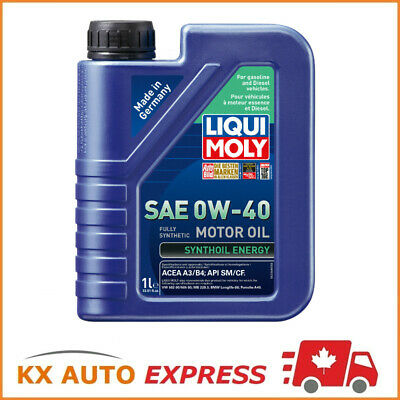 $ CDN280.99 • Buy 12 Liter Liqui Moly Synthoil Energy SAE 0W-40 Fully Synthetic Engine Oil