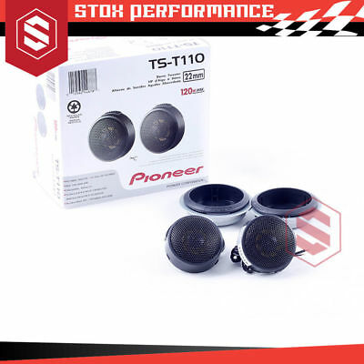 AU75 • Buy Pioneer TS-T110 7/8  120Watts Peak Hard Dome Car Tweeters - New