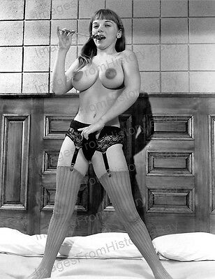 AU20.81 • Buy 8x10 Print Sexy Model Pin Up Michelle Angelo Busty Sensation 1968 #MA1