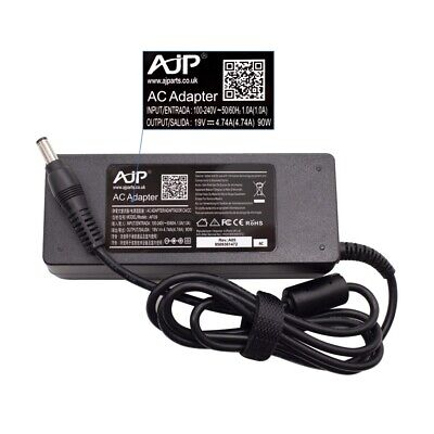 £16.69 • Buy Replacement 90W AJP Adapter Charger For TOSHIBA EQUIUM P200D-139 Laptop