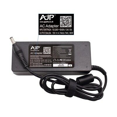 Replacement 90W AJP Adapter Charger For TOSHIBA EQUIUM P200D-139 Laptop • 15.49£