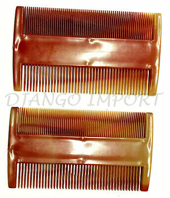 Double Sided Nit Comb  X 2 Multi Color For Head Lice Detection Comb Hair Comb UK • 0.99£