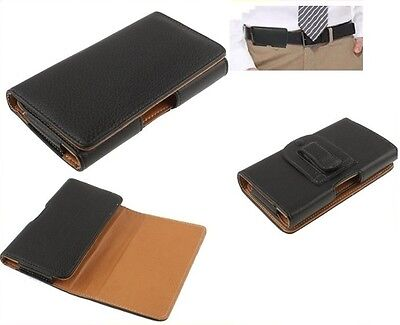 For ZTE TANIA Case Belt Clip Synthetic Leather Horizontal Premium • 19.95£