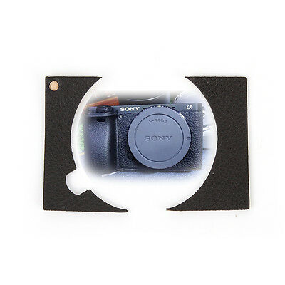 $ CDN8.77 • Buy Leather Decoration Sticker Skin Protector Cover For Sony A6000 ILCE-6000L Body