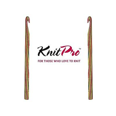 KnitPro Symfonie Crochet Hook Single Ended Knitting Sewing Craft 15cm • 7.85£