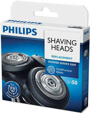 AU74.95 • Buy Philips Series 5000 Shaver Replacement Heads Shaving Heads And Blades SH50