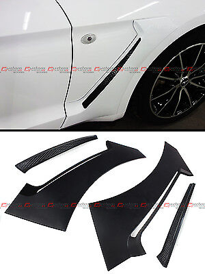 $ CDN71.85 • Buy For 2015-2020 Ford Mustang GT Style Front Fender Flare Side Panel Scoops Vents
