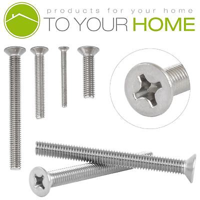 £1.49 • Buy Countersunk M3 Machine Screws A2 Stainless Steel Phillips Head Bolts